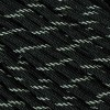 Black Reflective 550 Paracord - 50 ft